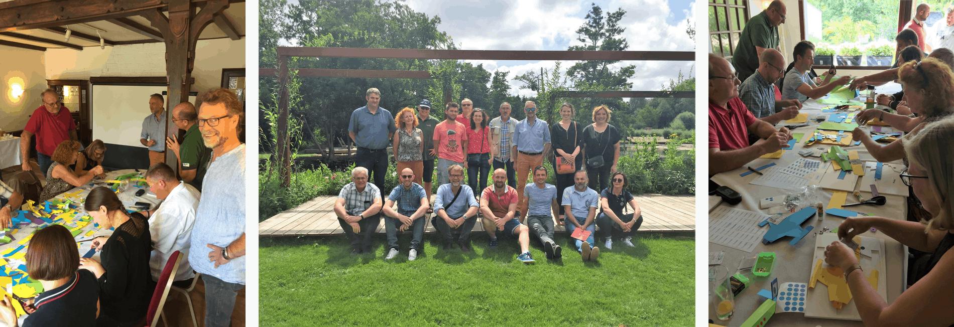 Séminaire des bénévoles de l'Unep Hauts-de-France aux Hortillonnages d'Amiens