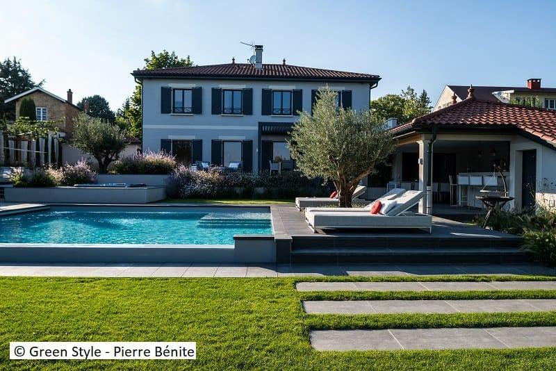 Jardin contemporain - Entreprise Green Style