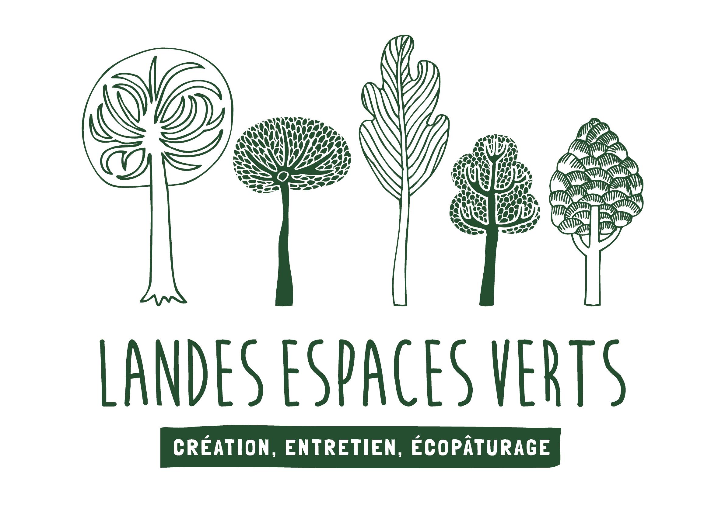 Logo LANDES ESPACES VERTS