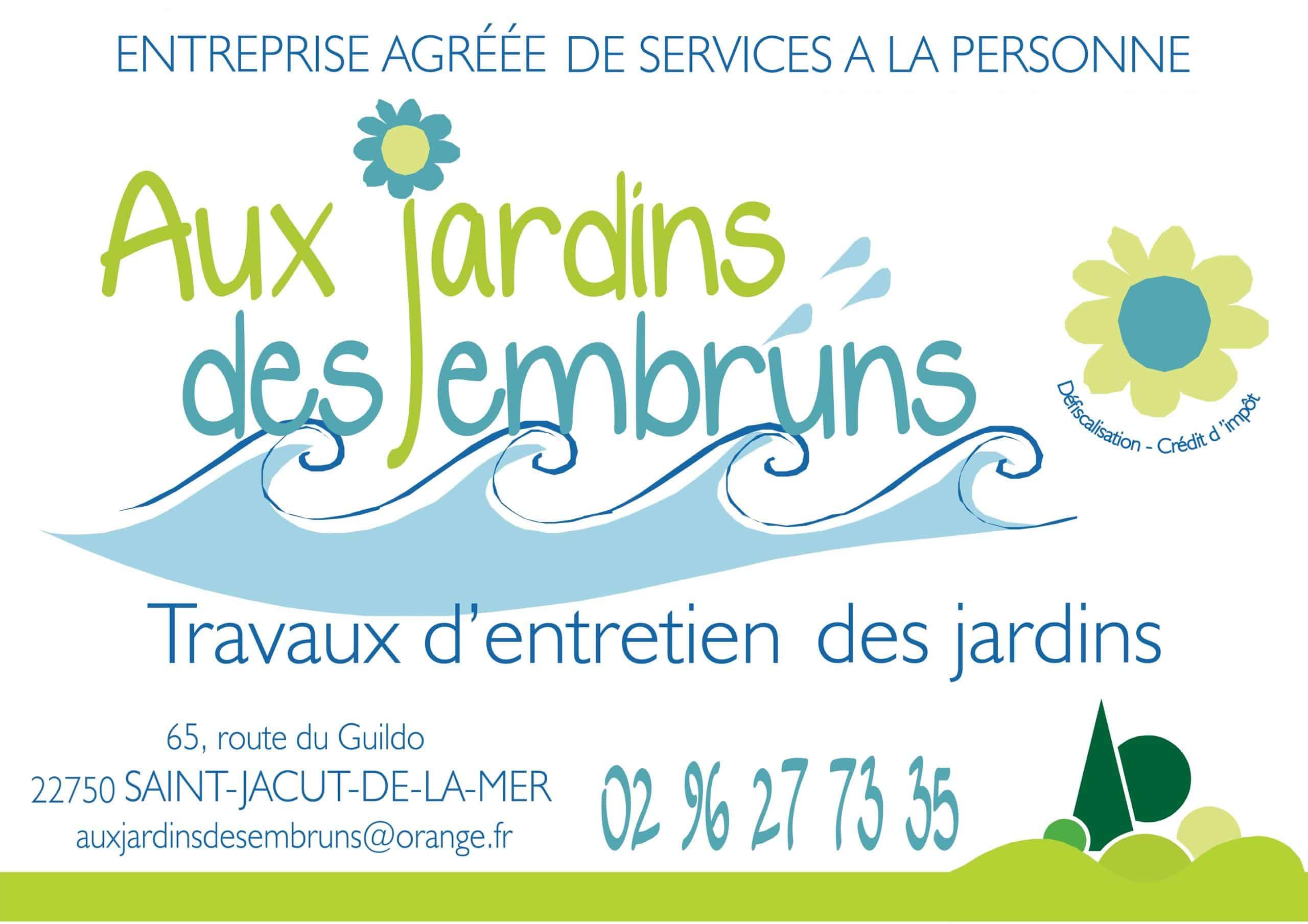 Logo AUX JARDINS DES EMBRUNS