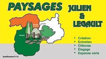 Logo PAYSAGES JULIEN ET LEGAULT SAS