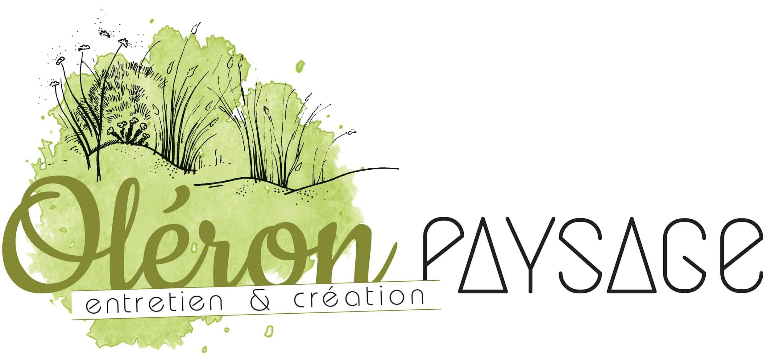 Logo OLERON PAYSAGE