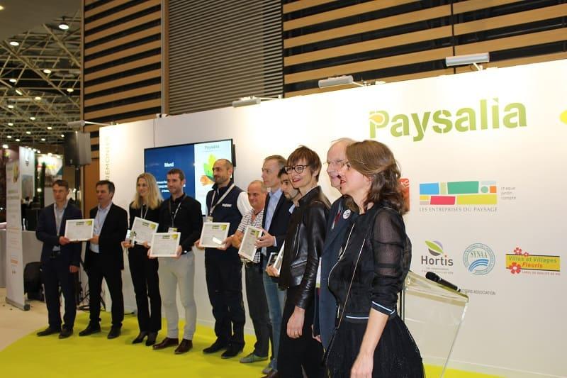 Les lauréats des Trophées Paysalia 2017