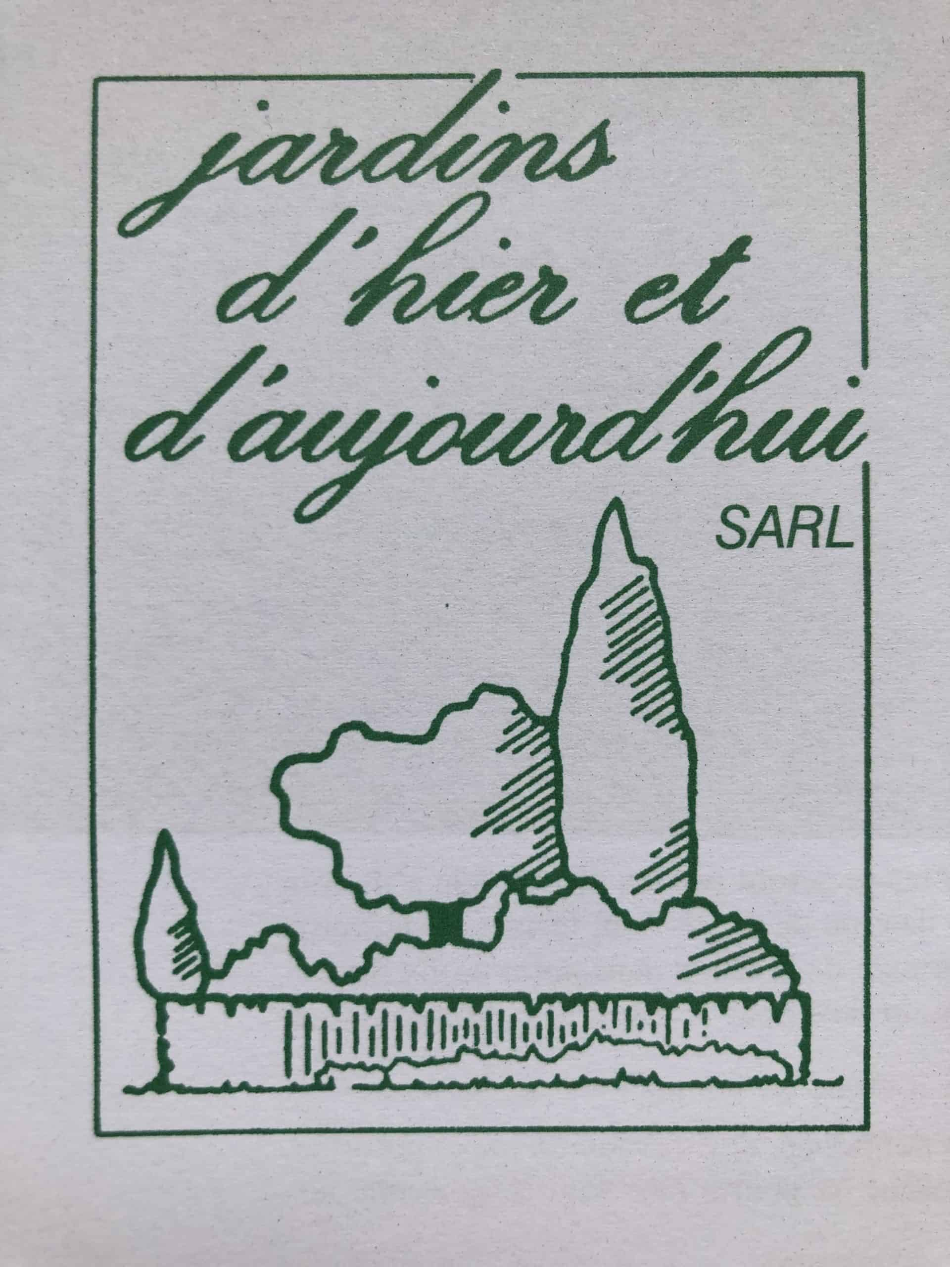 Logo JARDINS D'HIER ET D'AUJOURD'HUI