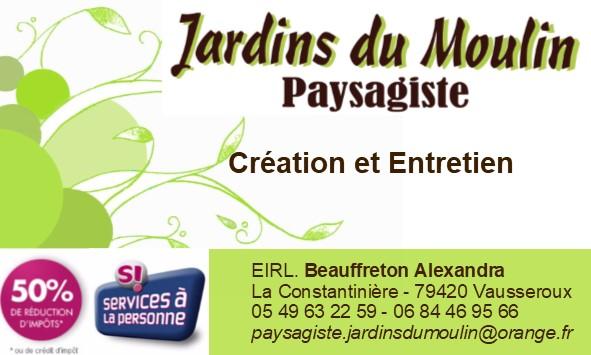 Logo JARDINS DU MOULIN SARL