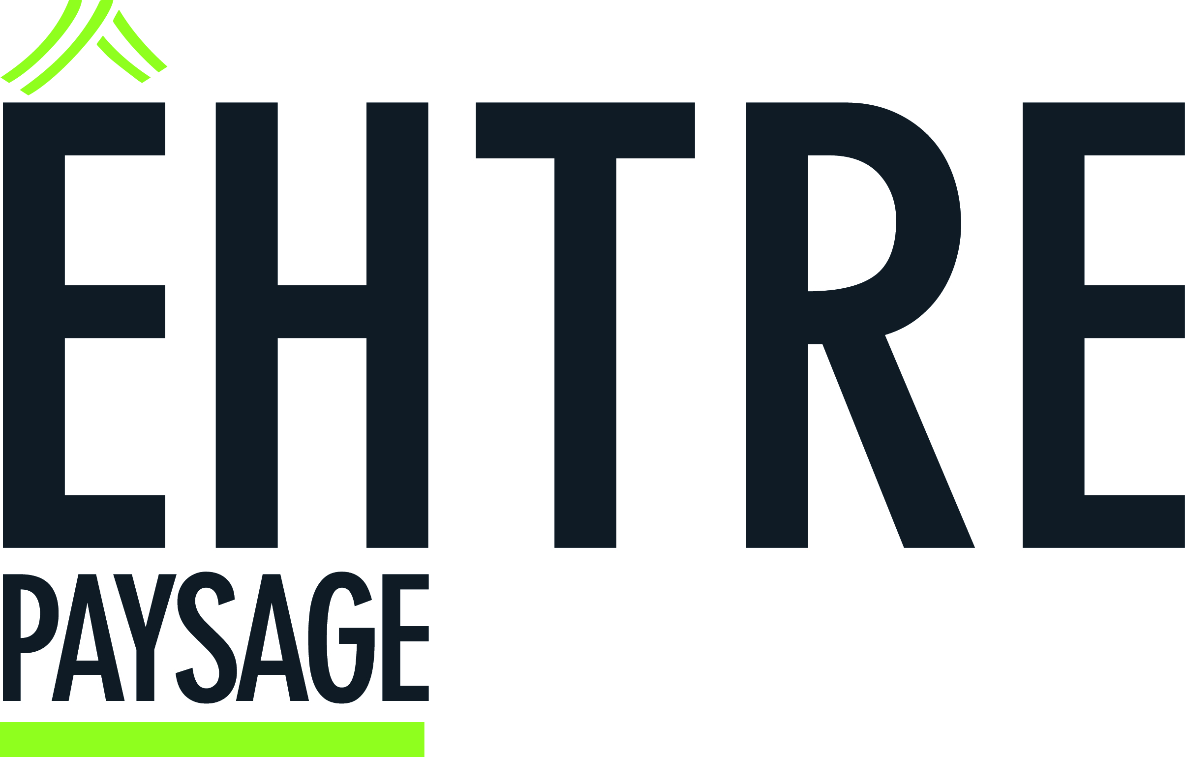 Logo EHTRE PAYSAGE