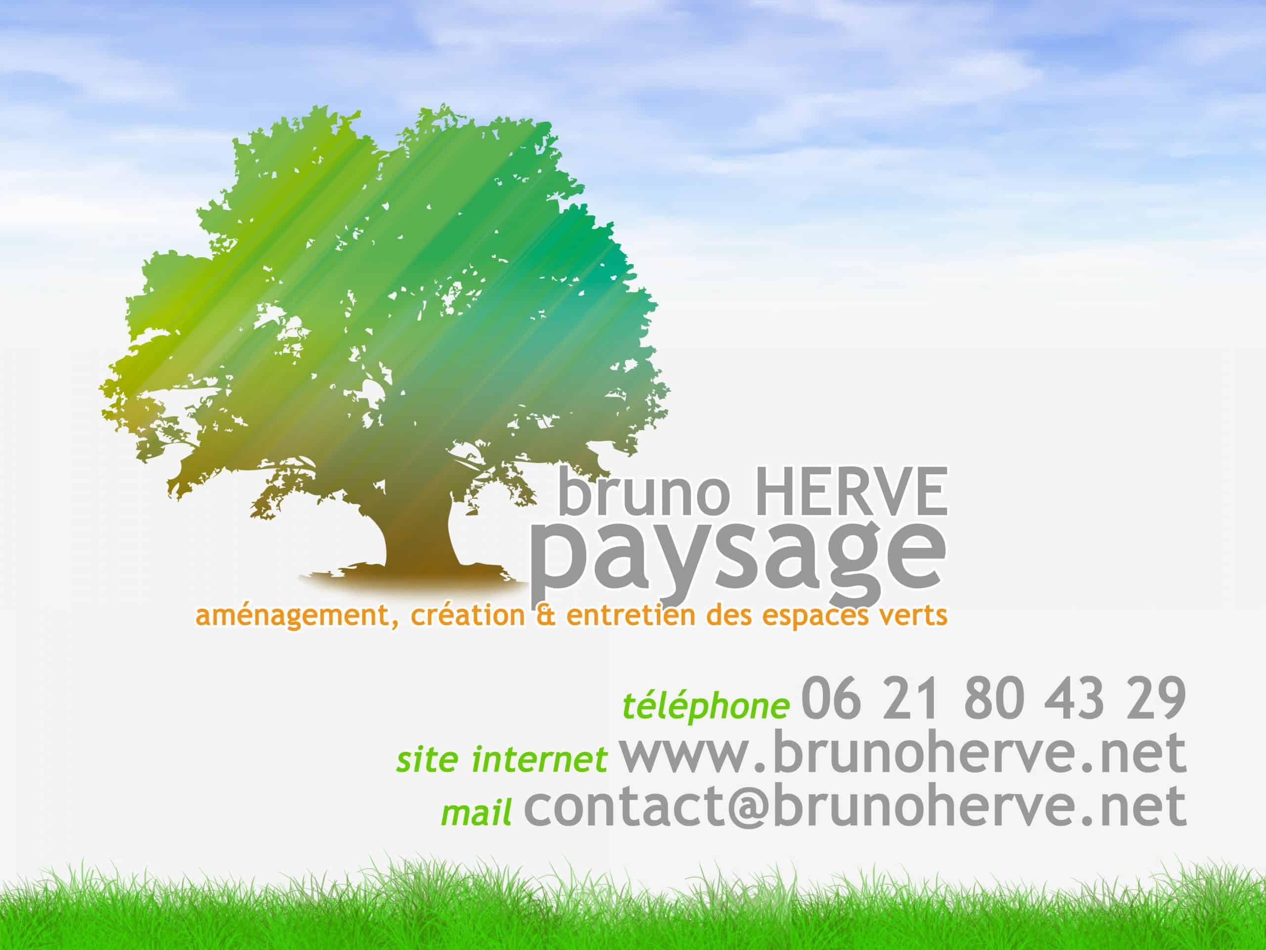 Logo BRUNO HERVE PAYSAGE SARL