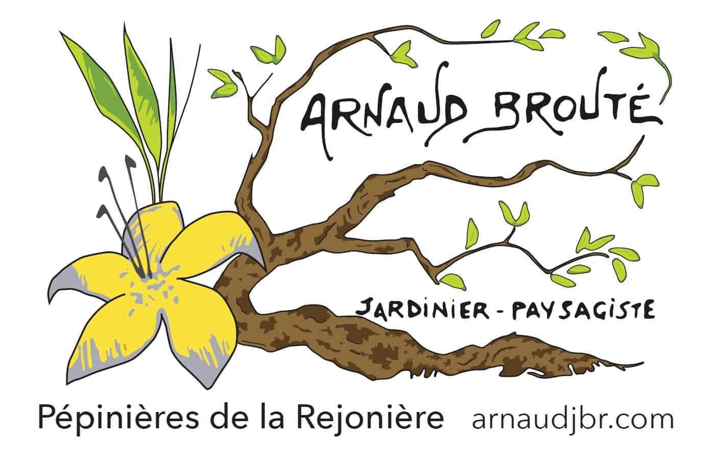 Logo ARNAUD BROUTE JARDINIER PAYSAGISTE