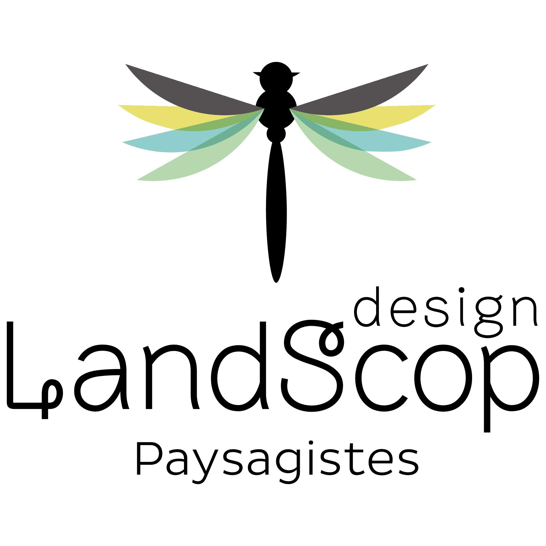 Logo LANDSCOP DESIGN
