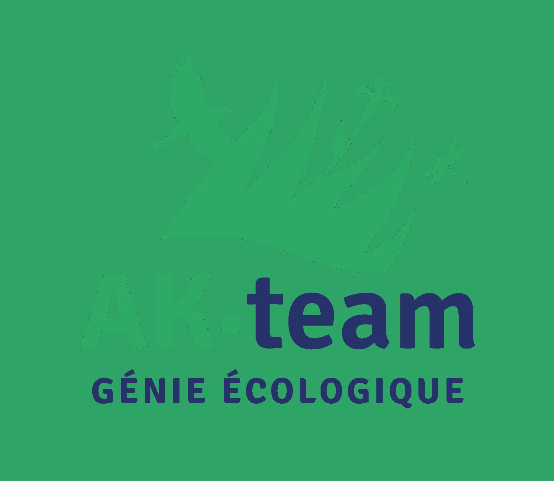 Logo AK-TEAM GÉNIE ECOLOGIQUE