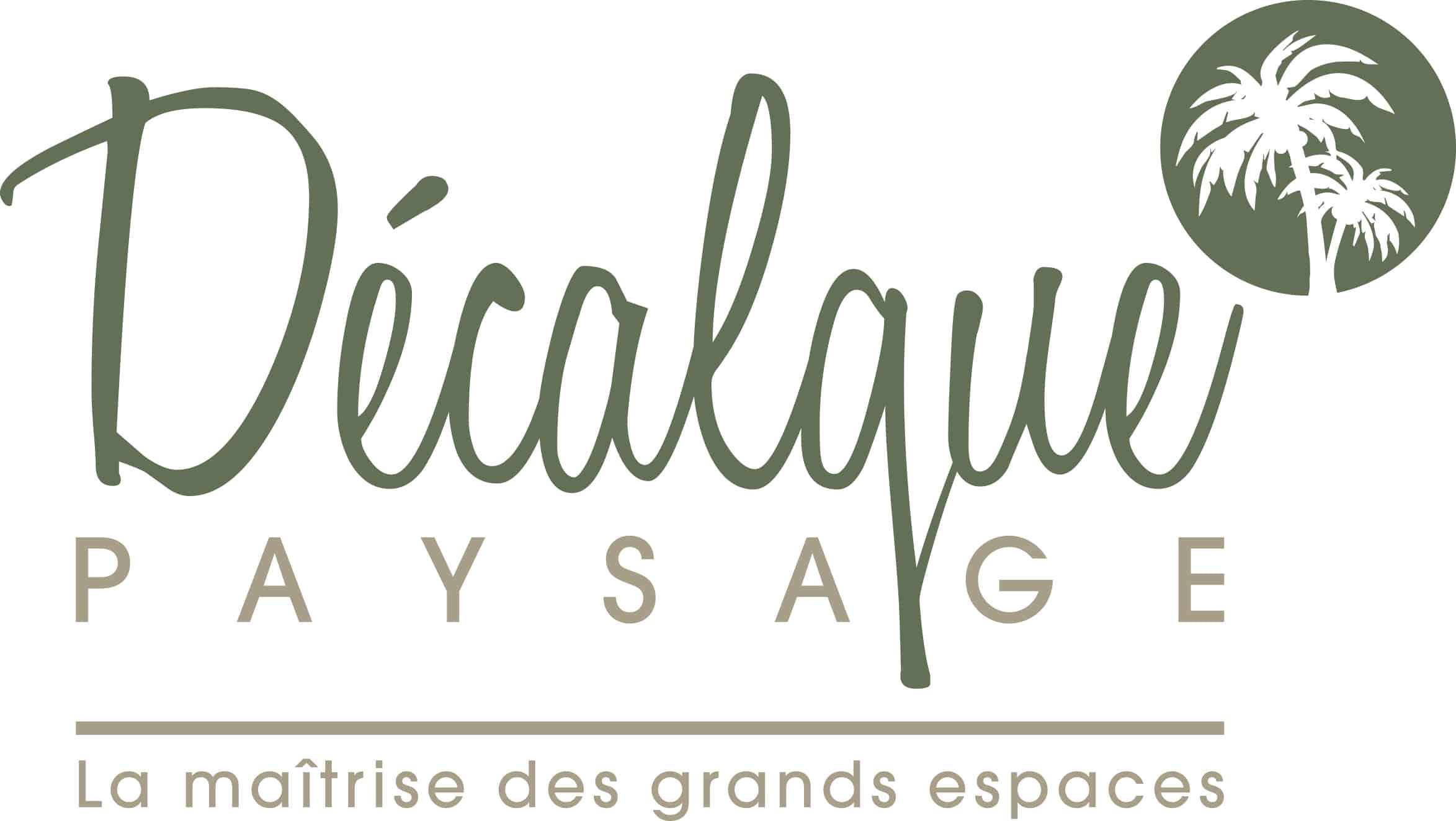 Logo DECALQUE PAYSAGE