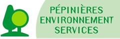 Logo PEPINIERES ENVIRONNEMENT SERVICES