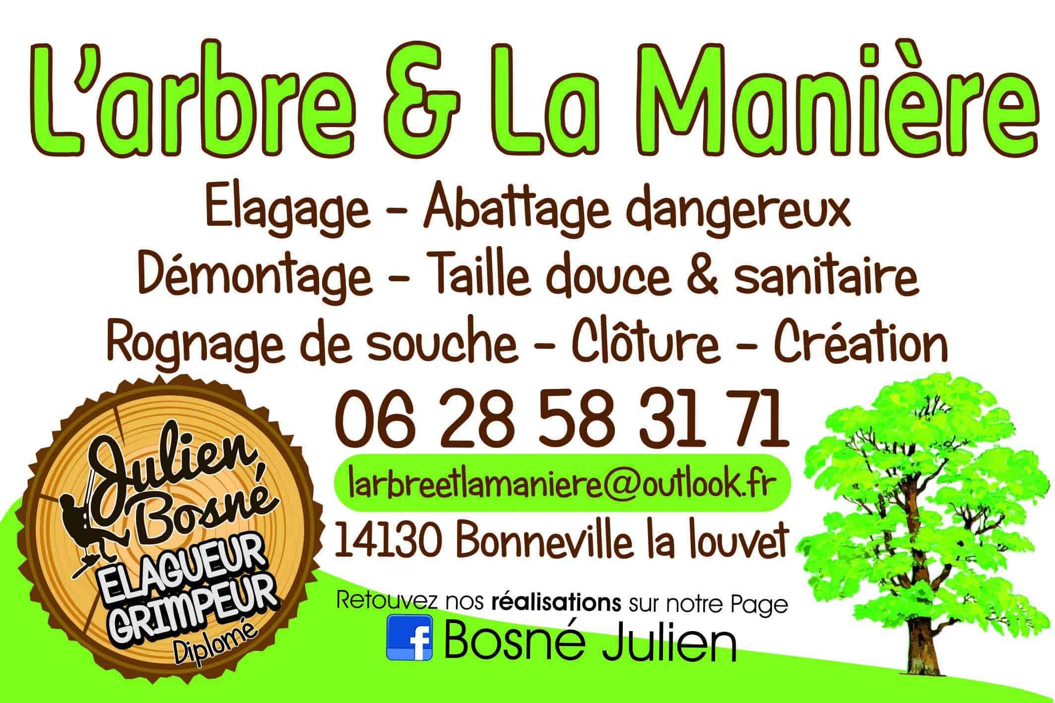 Logo L'ARBRE ET LA MANIERE