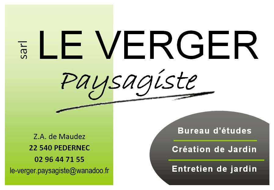 Logo LE VERGER PAYSAGISTE