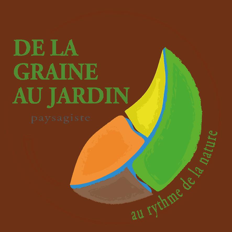 Logo DE LA GRAINE AU JARDIN
